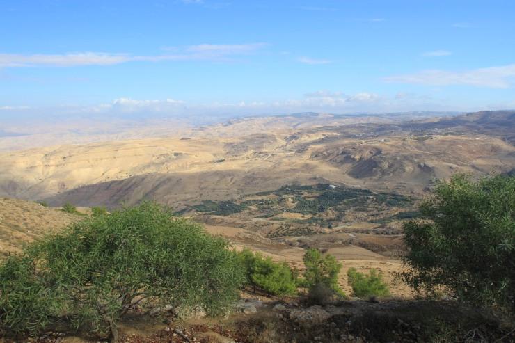 Views from Mount Nebu, Jordan