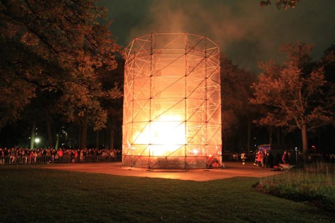 Fire Tornado, GLOW Festival, Eindhoven