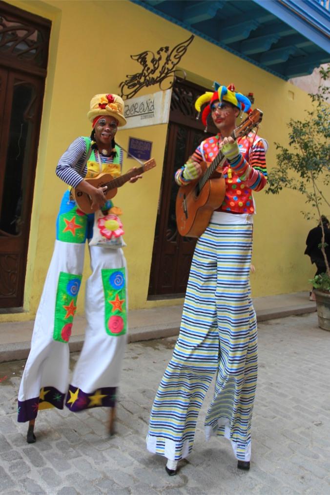 Street performers, Havana Vieja, Cuba