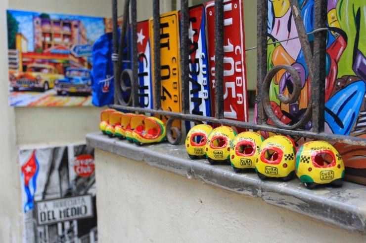 Tourist souvenirs, Havana Vieja, Cuba