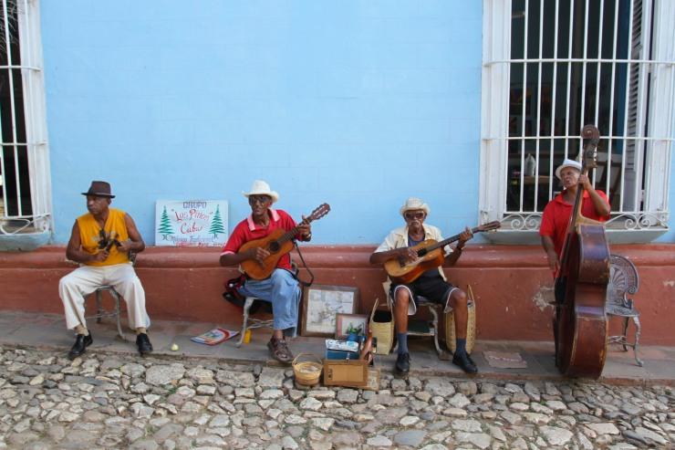 Musicians, Trinidad, Cuba