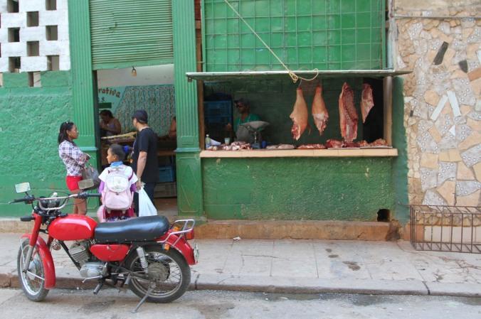 Butchers, Havana Vieja, Cuba