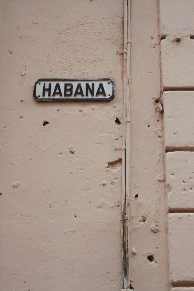 Habana street, Havana Vieja, Cuba