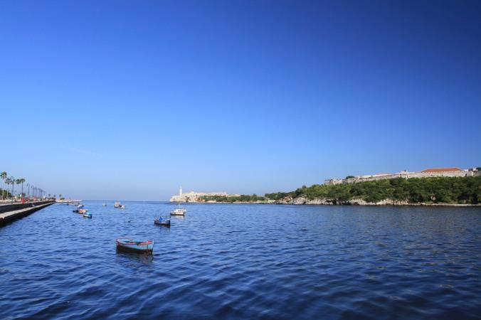 Havana waterfront, Cuba