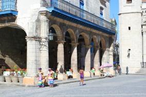 Plaza de la Catedral, Havana Vieja, Cuba