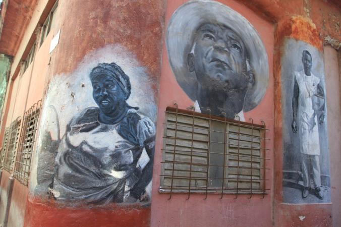 Wall art, Havana, Cuba