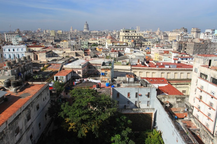 View over Havana Vieja, Cuba