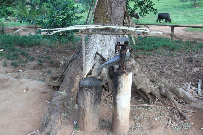 Sugarcane press, Valle de Silencio, Vinales