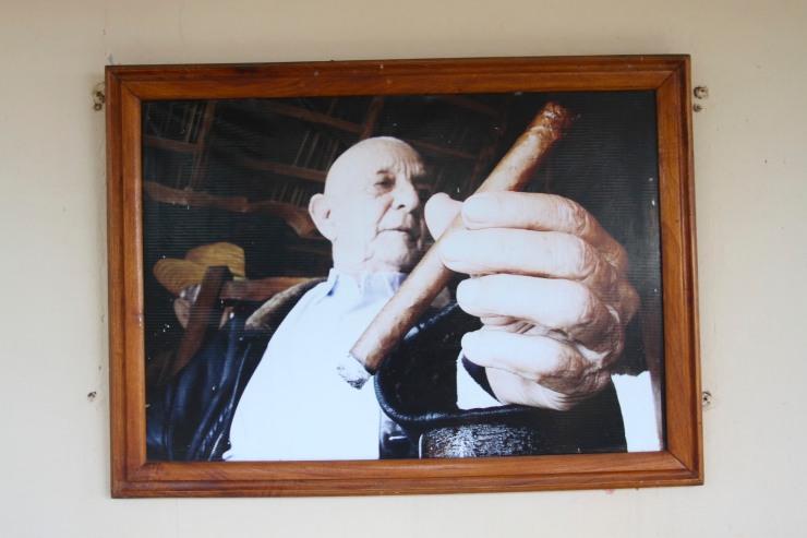 Alejandro Robaina, Robaina cigar plantation, Pinar del Rio, Cuba