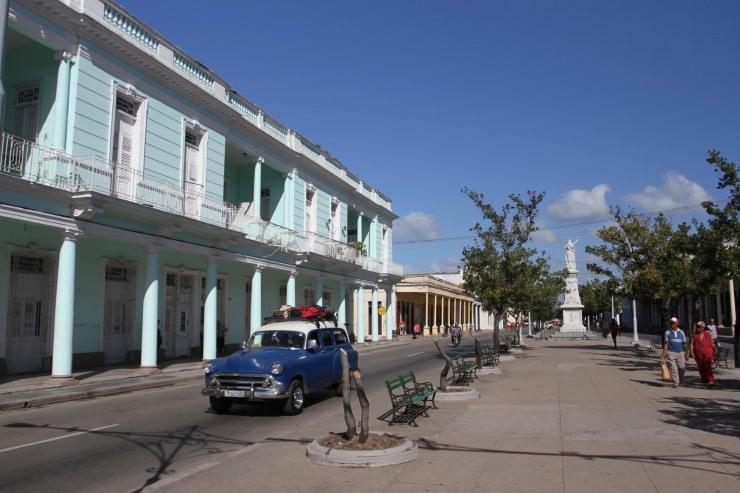 Paseo el Prado, Cienfuegos, Cuba
