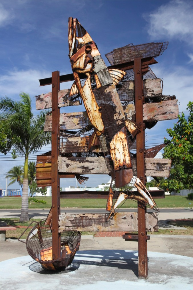 Street art, Punta Gorda, Cienfuegos, Cuba
