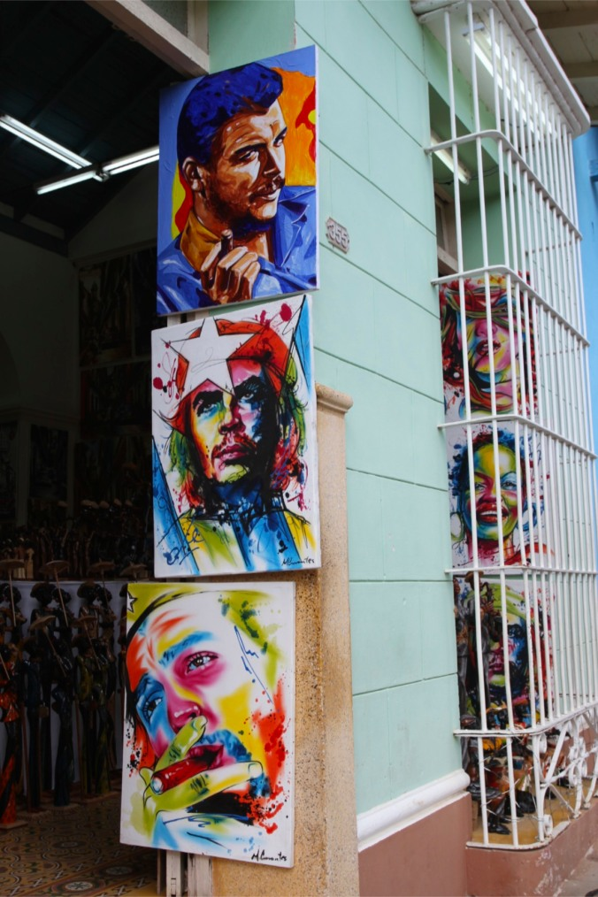 Paintings, Trinidad, Cuba