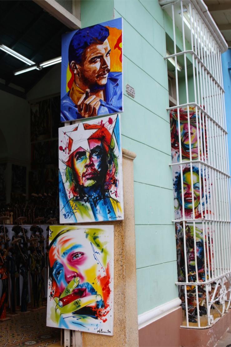 Paintings, Trinidad, Cuba
