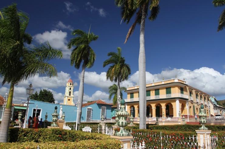 Plaza Major, Trinidad, Cuba