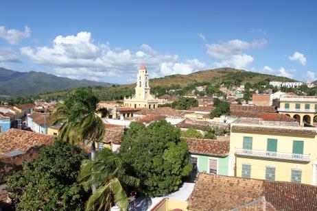 Views over Trinidad, Cuba