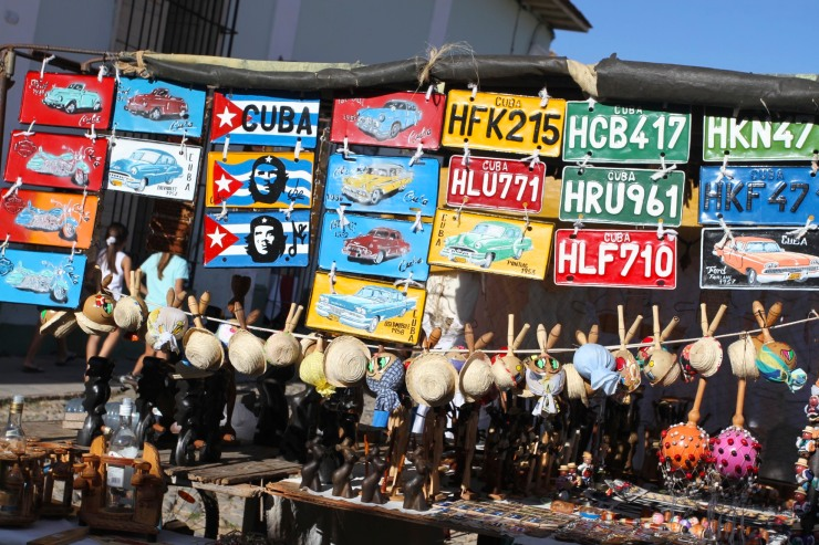 Tourist stall, Trinidad, Cuba