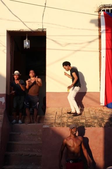 A bar in Trinidad, Cuba