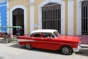 1950s American car, Trinidad, Cuba