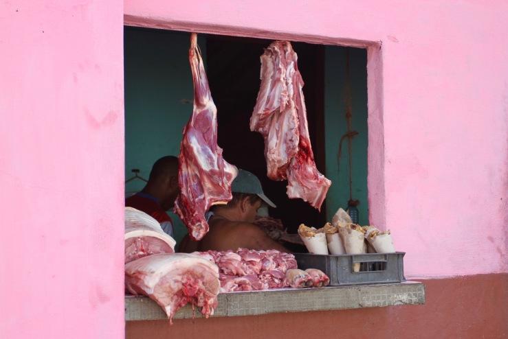 Butchers, Trinidad, Cuba