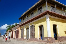 The cobbled streets of Trinidad, Cuba