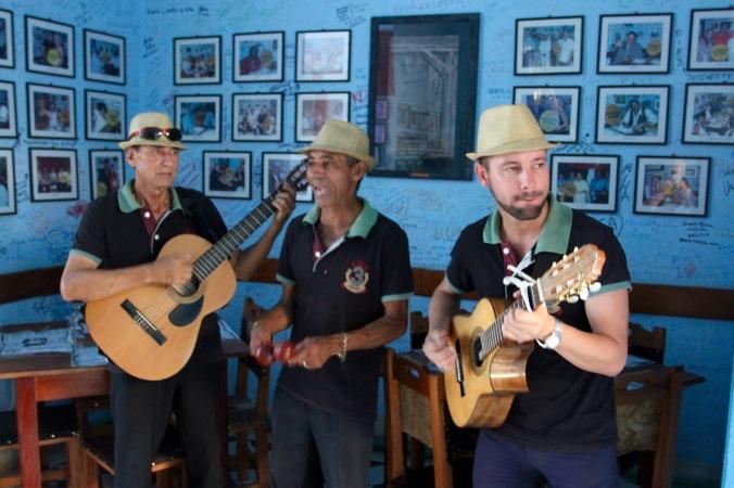Band in Trinidad, Cuba