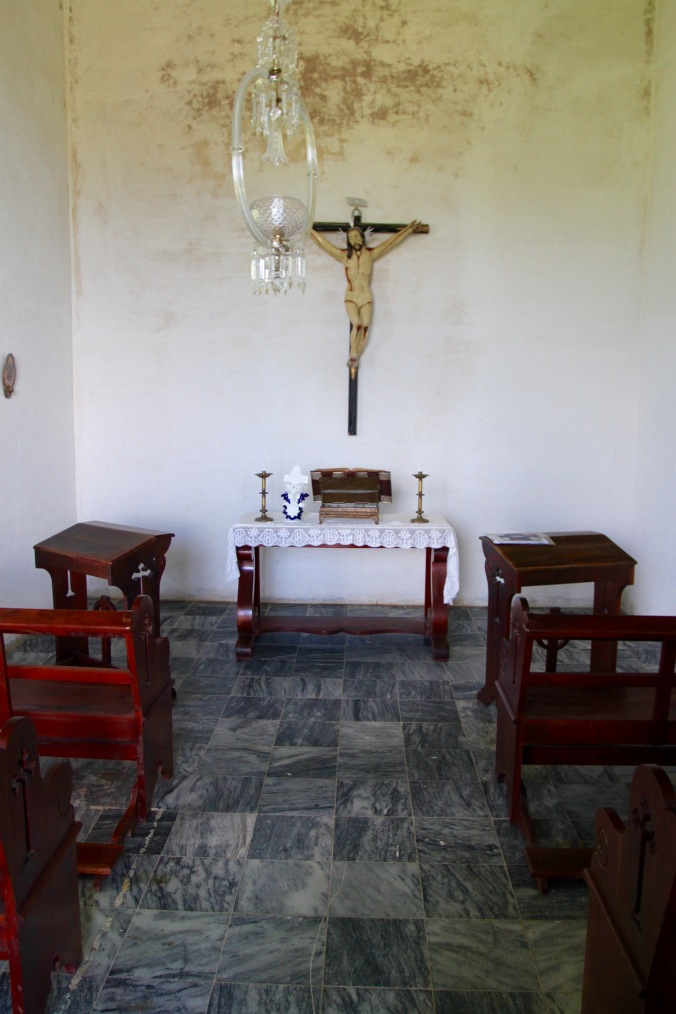 Private chapel, Guáimaro plantation, Valle de los Ingenios, Cuba