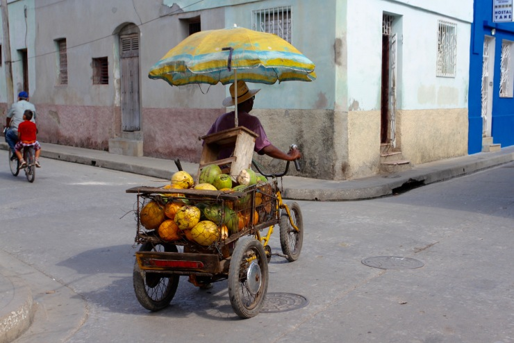 Fruit seller, Camaguey, Cuba