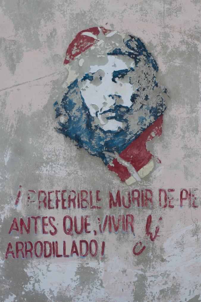 Wall painting of Che Guevara, Cuba