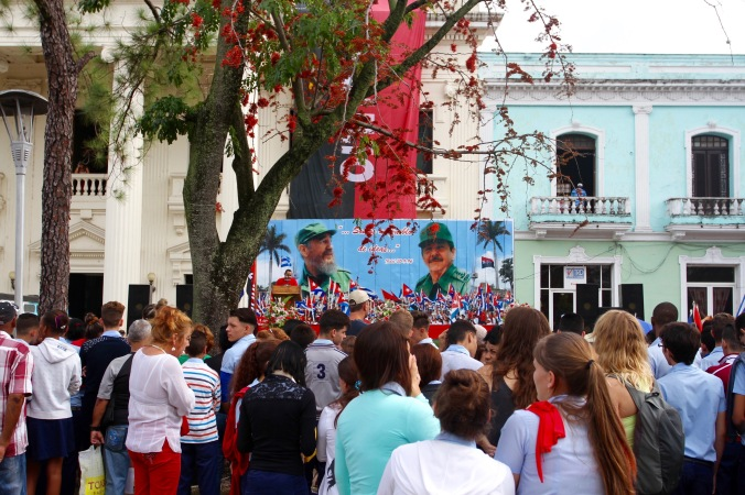 Celebrating the Revolution in Santa Clara, Cuba