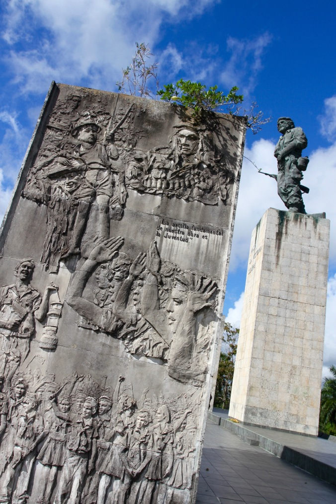 Memorial at Che Guevara's mausoleum, Santa Clara, Cuba