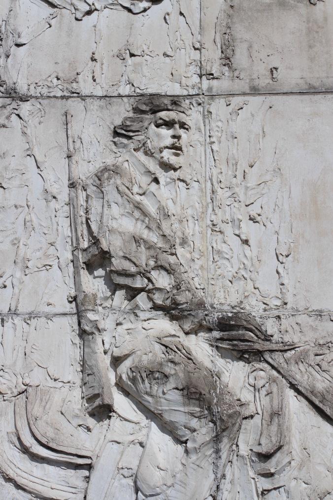 Memorial at Che Guevara's mausoleum, Santa Clara, Cuba