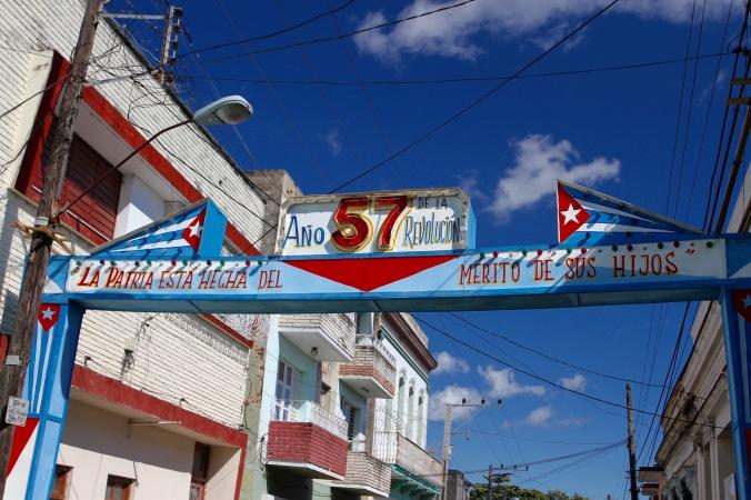 Celebrating the Cuban Revolution, Santa Clara, Cuba