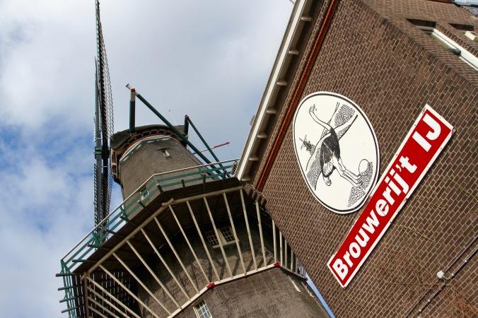Brouwerij 't IJ brewery, Amsterdam, Netherlands