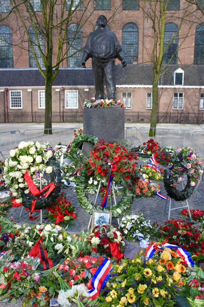 World War II memorial, Amsterdam, Netherlands