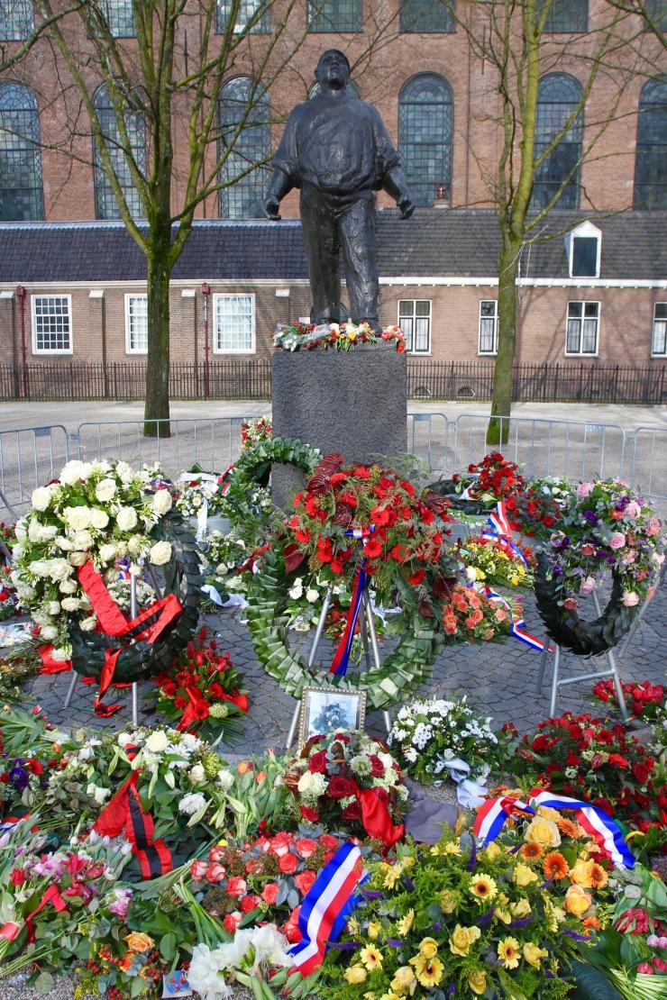 World War II memorial, Amsterdam, Netherlands
