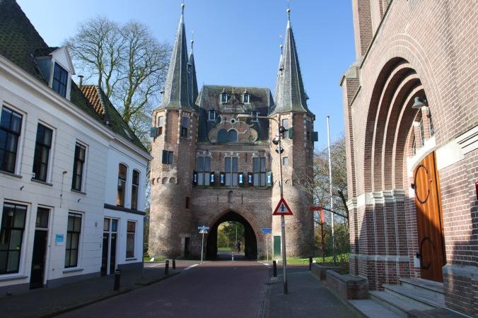 Broederpoort, Medieval gate, Kampen, Netherlands