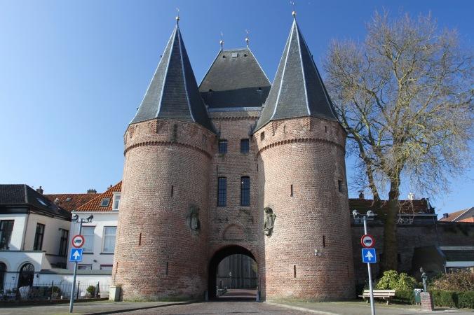 Korenmarktpoort, Medieval gate, Kampen, Netherlands