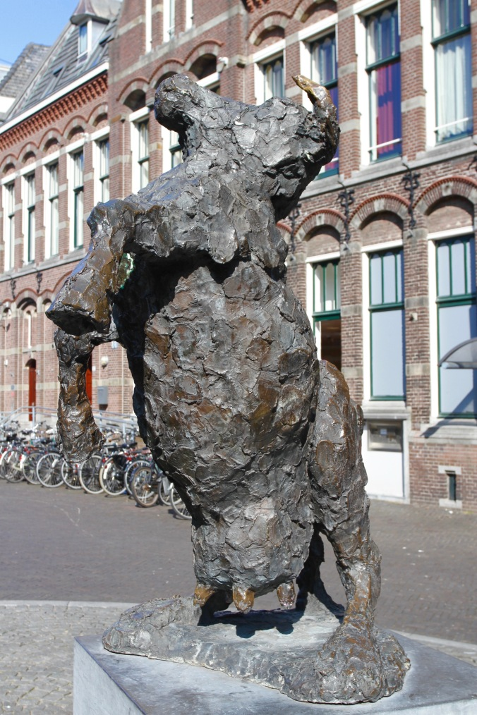 Cow sculpture, Kampen, Netherlands