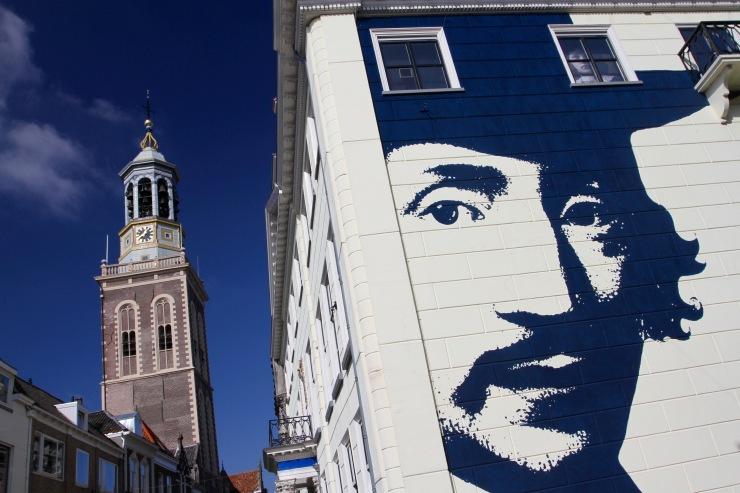 Mural on the Stedelijk Museum, Kampen, Netherlands
