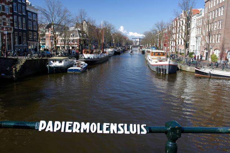 Papiermolensluis, Amsterdam, Netherlands