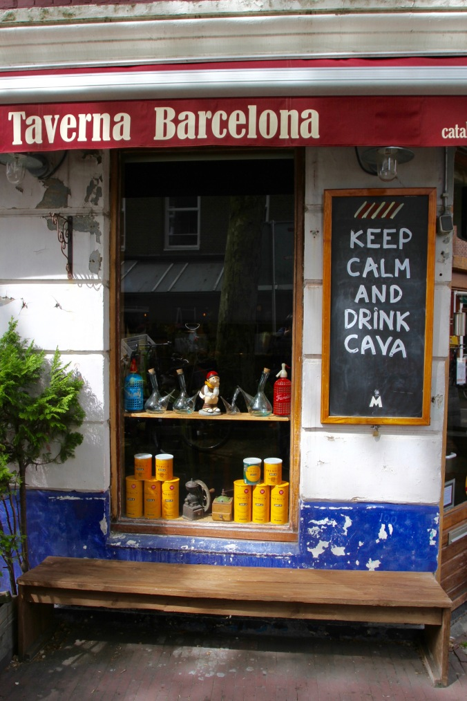 Keep Calm and Drink Cava, Amsterdam, Netherlands