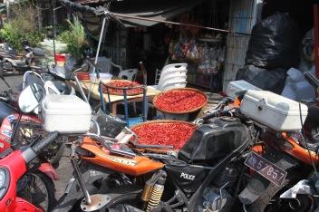 Community market near Khlong Toei, Bangkok, Thailand