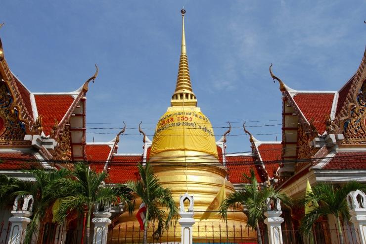 Wat Mai Amataros Phrasomdet Bangkhunphrom, Bangkok, Thailand