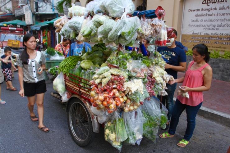 Street market, Bangkok, Thailand