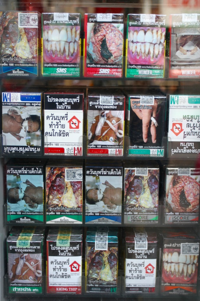 Smoking kills, Bangkok, Thailand