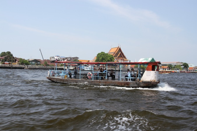 The Chao Phraya River, Bangkok, Thailand