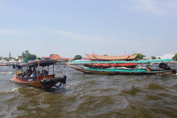 The Chao Phraya River, Bangkok, Thailand