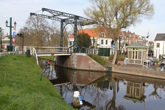 Bridge into Voorburg, Netherlands