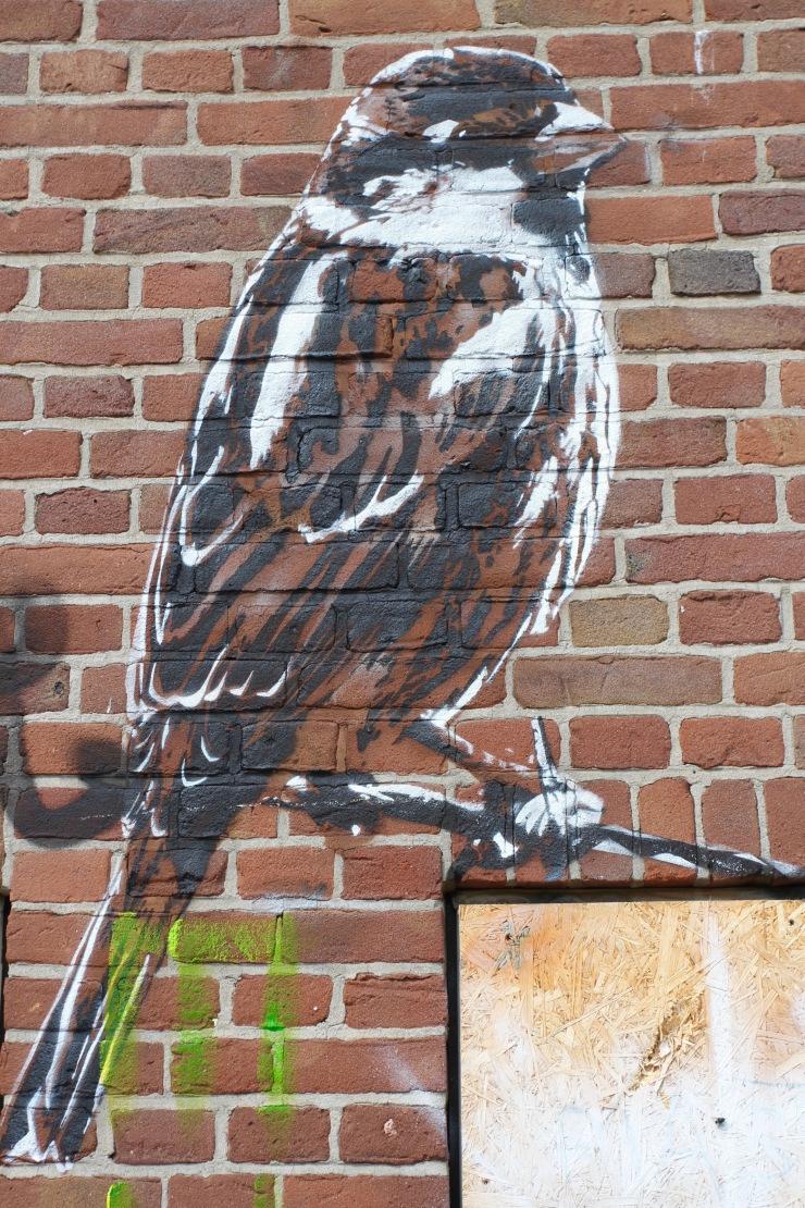 Street art, The Hague, Netherlands