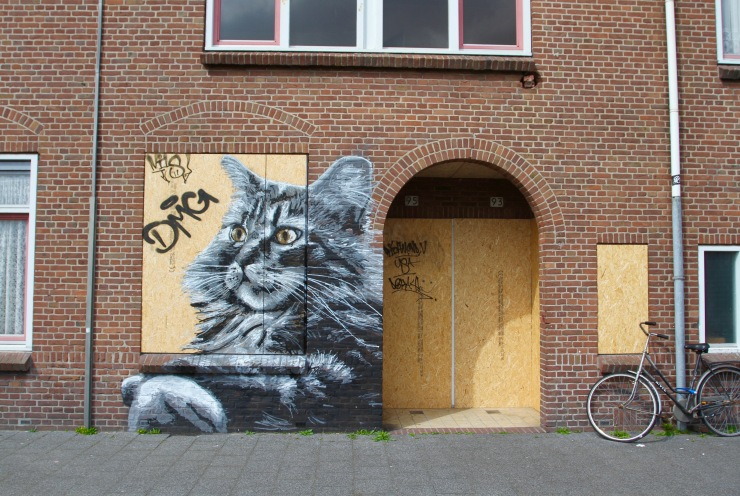 Street art, The Hague, Netherlands